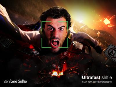 Zenfone Selfie Poster concept