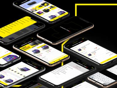 ComputerShop Mobile App UX/UI