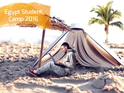 Egypt Student Camp 2016