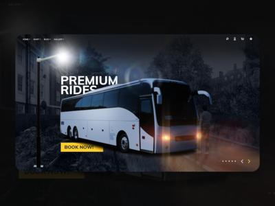 Touring Company | Website concept