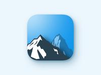 Mountain GPS app icon