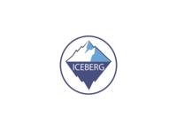 Logo for football club «ICEBERG»