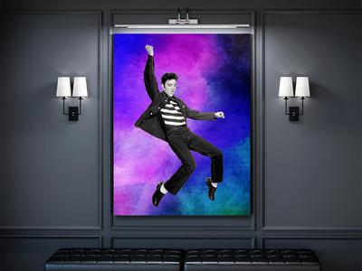 Elvis Presley Canvas
