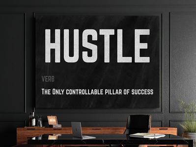 Hustle Canvas