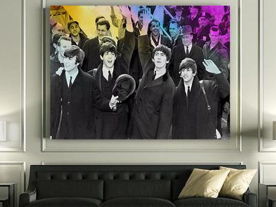 Beatles Classic Canvas Art