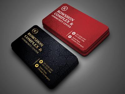 Business Card Design flyer template digital flyer businessflyer realestate graphicdesign corporate business flyer branding standard design business card design