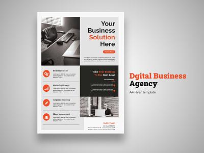 Business Flyer graphic design digital flyer realestate uiuxdesign corporate business flyer businessflyer branding flyer template