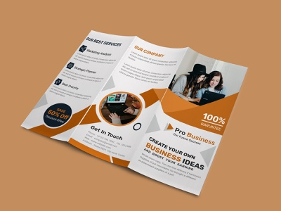 Brochure Design clean ui graphic design business card design corporate business flyer digital flyer realestate flyer template branding a4 template brochure design