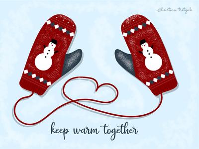 Christmass mittens