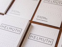 Business Cards for Helmuth Projects