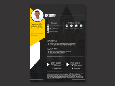Layout Resume/CV Design