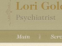 Header for Psychiatrist website