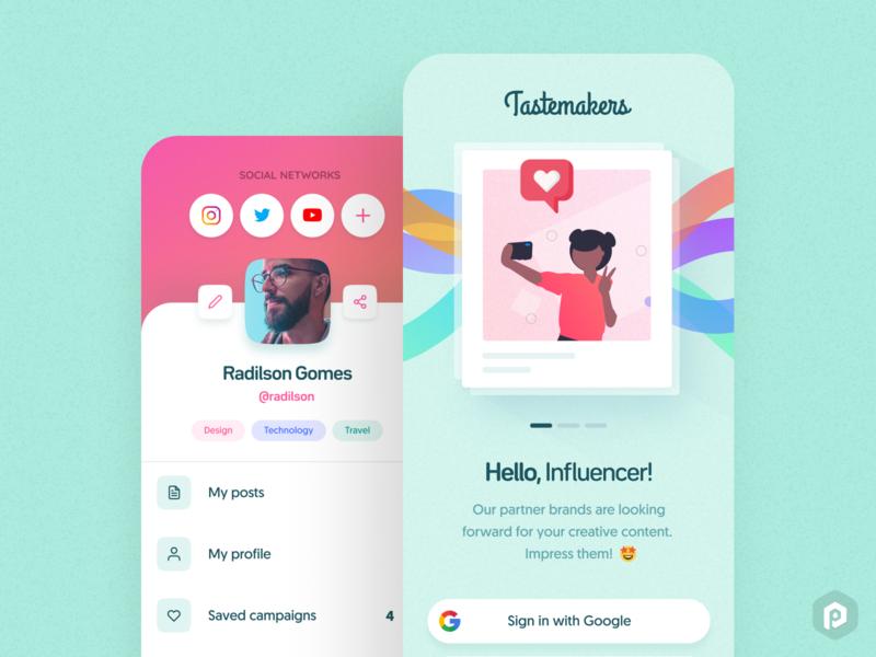Tastemakers App Concept #2 😎