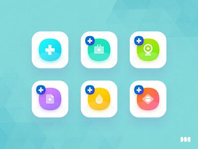 Public Health Icon Suite gradient datasus mbamobi public health suite icon app icon