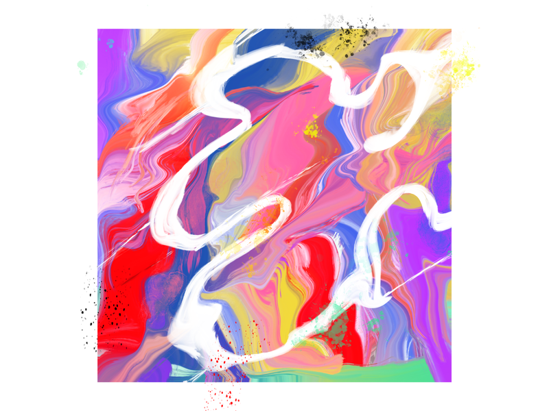 E—Expressionism 36days-e expressionism dropcap illustration lettering 36daysoftype
