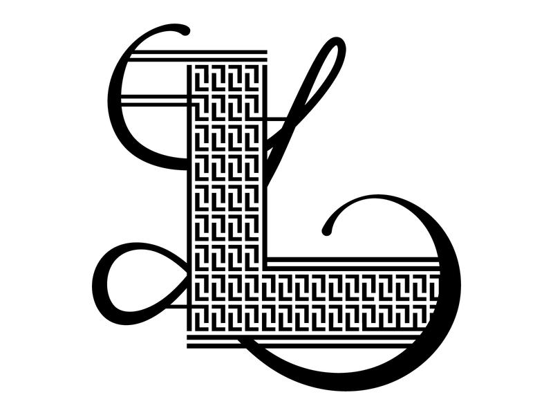L—Lettrism type lettrism illustration dropcap lettering 36daysoftype
