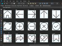 Working On UI Icon Set