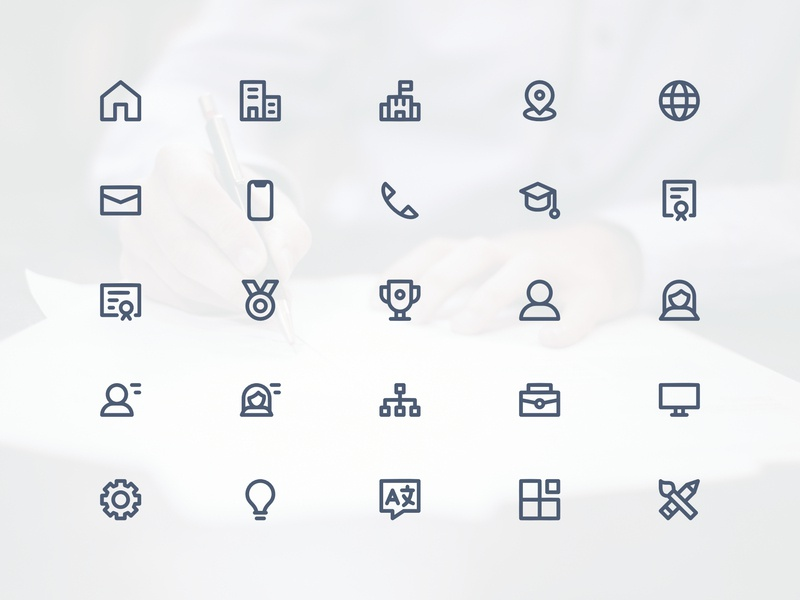 cv    resume icon set by explanaicon