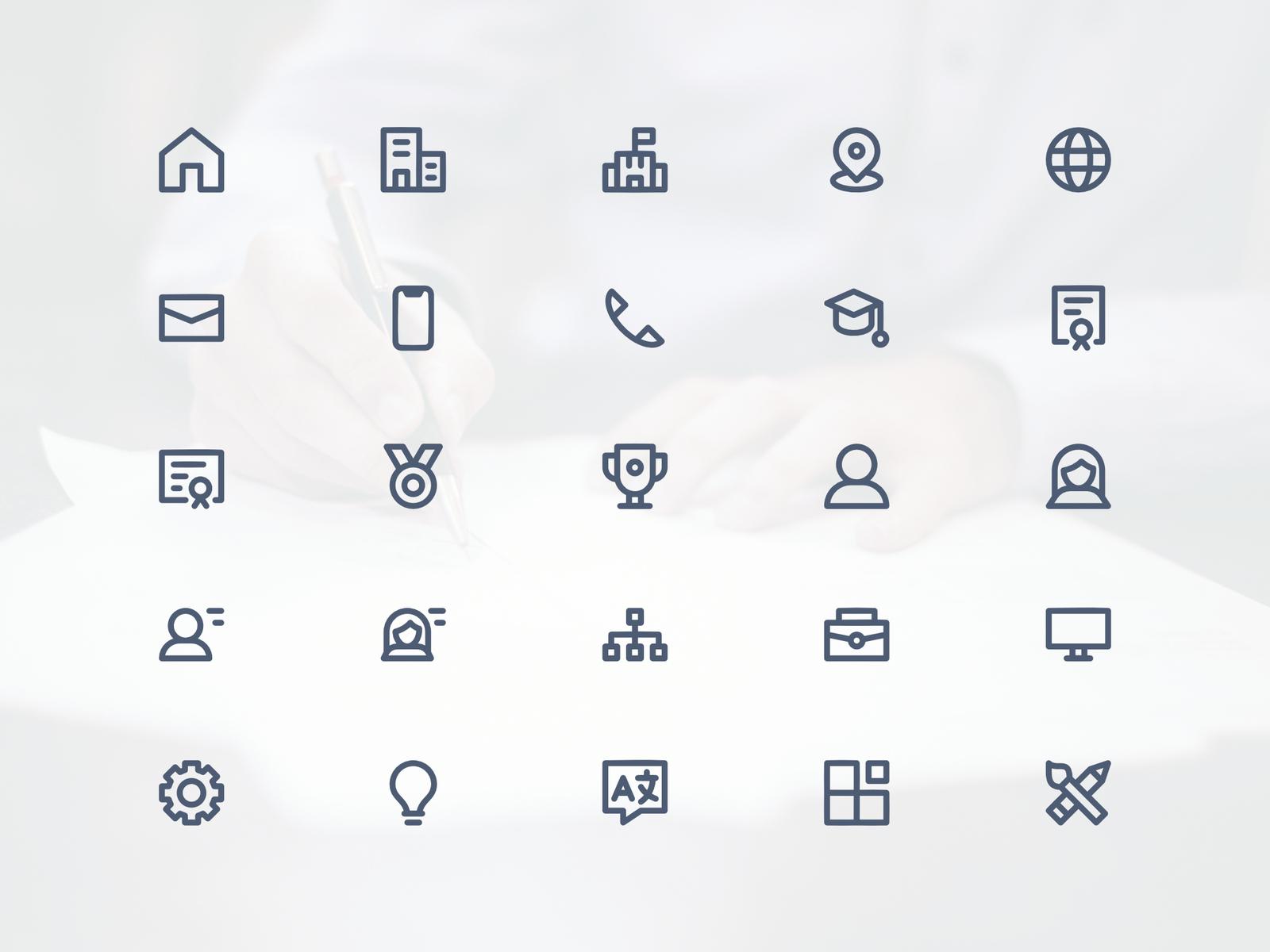 cv    resume icon set by explanaicon on dribbble
