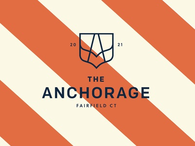 The Anchorage typography logo