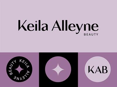 KAB typography branding logo
