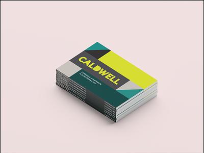 Caldwell magazine brochure logo branding