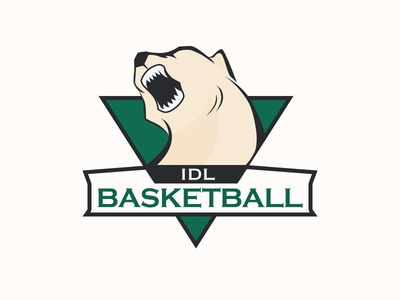 Basketball team logo logo design yuhan basketball bear