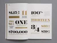 Spread / Annual Report