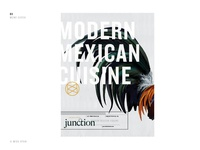 Junction / menu cover concept