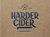 Harder Cider branding