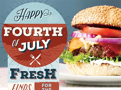 4th of July Finds food typography 4th of july