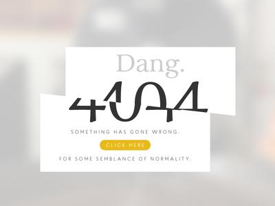 Daily UI 008 - 404 - Page Not Found web ui ux error dailyui 404 008