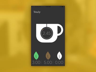 Daily UI 014 - Countdown Timer ui ux app timer countdown tea dailyui 014