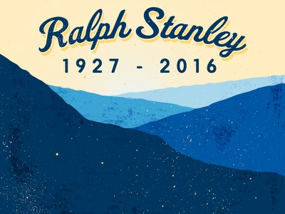 Ralph Stanley blue ridge mountains ralph stanley appalachian rip tribute bluegrass
