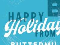 Happy Holidays Client Gift Design