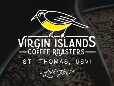 Thinking about Virgin Islands coffee logo
