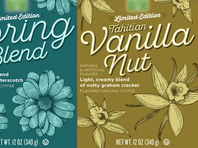 Coffee 3 packaging design illustration design label cpg coffee