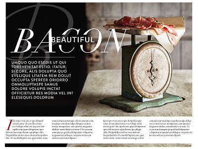 Magazine Layout - 1 photography typogaphy art direction magazine layout design layout