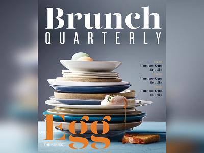 Magazine Layout 3 design typography brunch photography art direction magazine layout magazine cover design