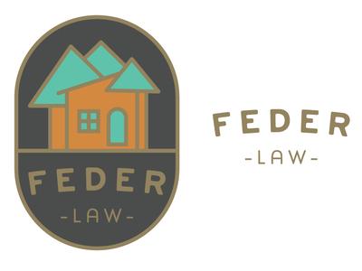 Law Firm Logo Concept design typography illustration icon branding vector logo