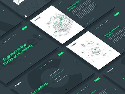 Magnet Website Design & Development web design green uae advertising tech responsive agency marketing toronto canada site webdesign branding website web ux ui dubai design art direction