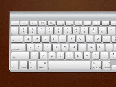 Keyboard Bluetooth Dribbble, .Sketch file keyboard apple .sketch free download leather