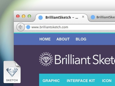 Firefox Browser Mockup .Sketch firefox browser mockup vector os x