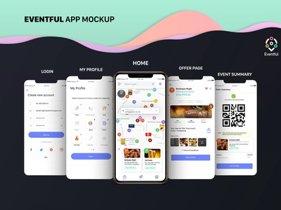 App Branding + Screens