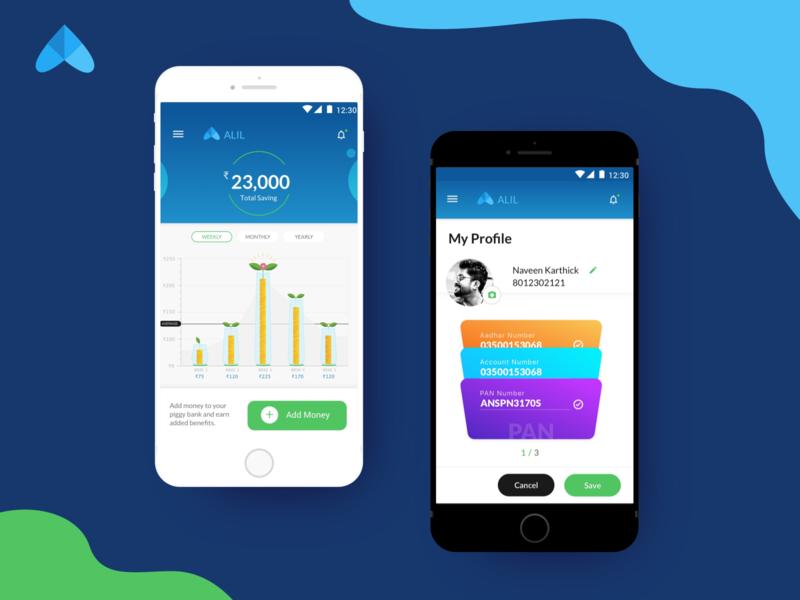Personalised Mobile Banking App mobile banking ui ux design user experience design user interaction finance app banking app app interface ux design ui app