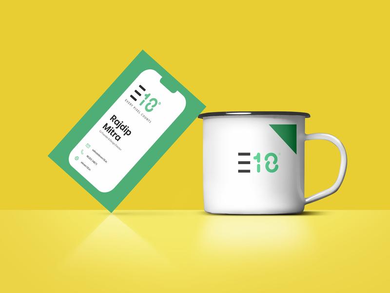E18 - Visiting Card user experience design app interface ui design app branding visiting card design visitingcard