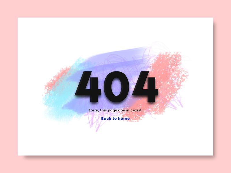Daily UI errorpagedesign error error 404 error page uiux dailyui uidesign dribbble 100dayuichallenge ui web design