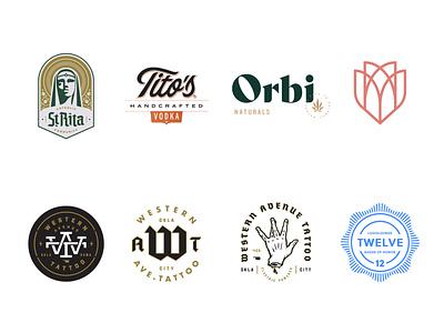 Logo Lounge Book 12 Selections illustration design monogram logotype identity crest mark logo badge branding