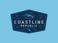Coastline Badge