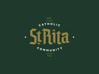 St. Rita Blackletter
